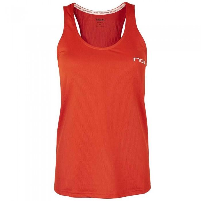 [해외]NOX Team Microperforated Sleeveless T-Shirt 12138014781 Red / White