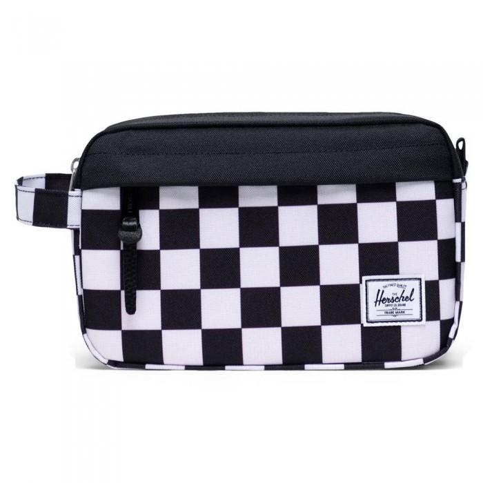 [해외]허쉘 Chapter Travel Kit 5L Checker Black / White / Black