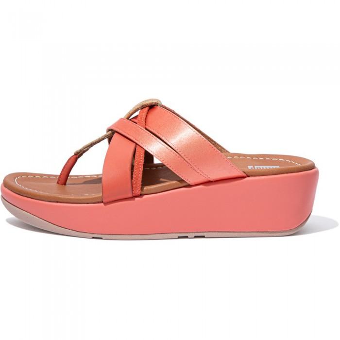 [해외]핏플랍 Kessia Flip Flops Coral Pink