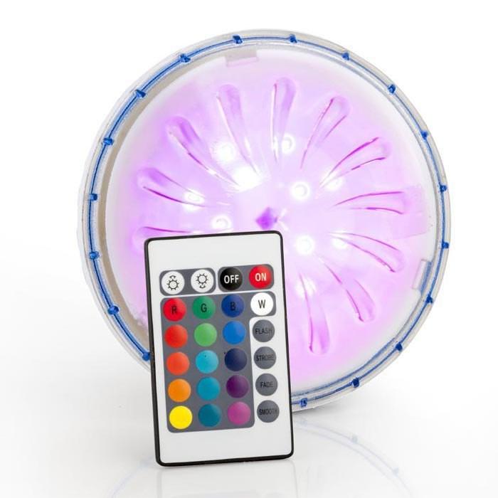 [해외]GRE POOLS LED Projector For Above Ground Pool With Remote Control 6136447701 Multicolor