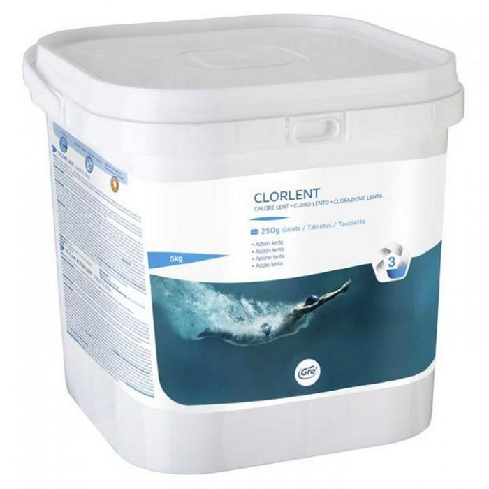 [해외]GRE POOLS Trichlorine Clorlent 250g Tablets 6136458767