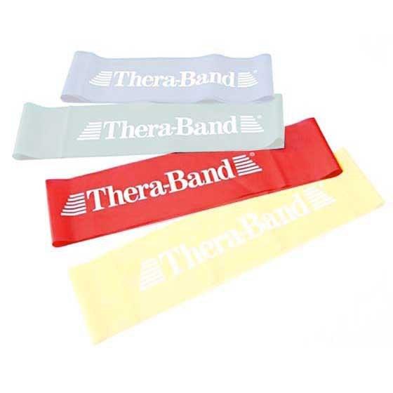 [해외]THERABAND Band Loop 7.6 M X 20.5 Cm 6135895108 Red