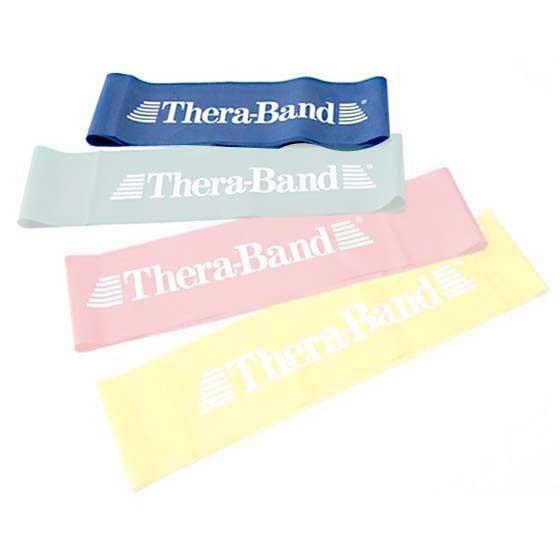 [해외]THERABAND Band Loop 7.6 M X 20.5 Cm 6135895110 Blue