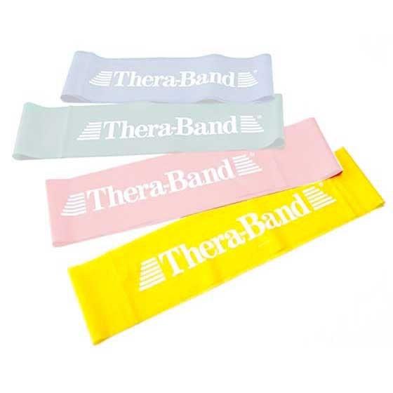 [해외]THERABAND Band Loop 7.6 M X 30.5 Cm 6135895111 Yellow