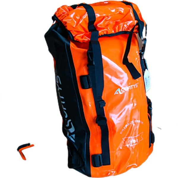 [해외]AQUATYS Dry Back Pack 55L 10138059125 Black / Orange