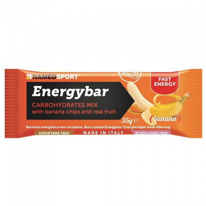 [해외]NAMED SPORT Carbohydrates Mix 35gr 12 Units Banana 7137002499 Banana