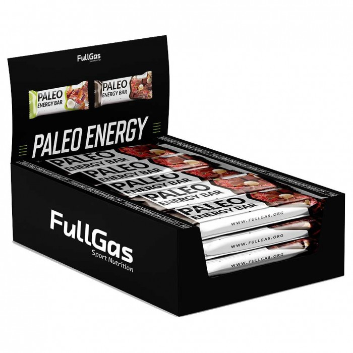 [해외]FULLGAS Paleo Energy 50gr 12 Units Chocolate 7137999496 Chocolate