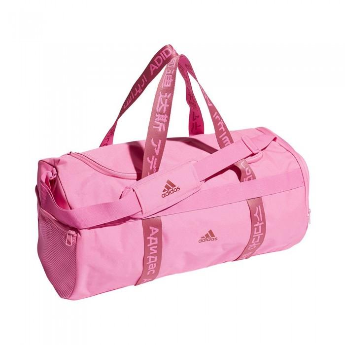 [해외]아디다스 4Athlts Duffel 37.25L 7137894484 Screaming Pink / Screaming Pink / Wild Pink