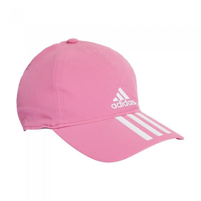 [해외]아디다스 Aeroready 3-Stripes 7137894422 Screaming Pink / White / White