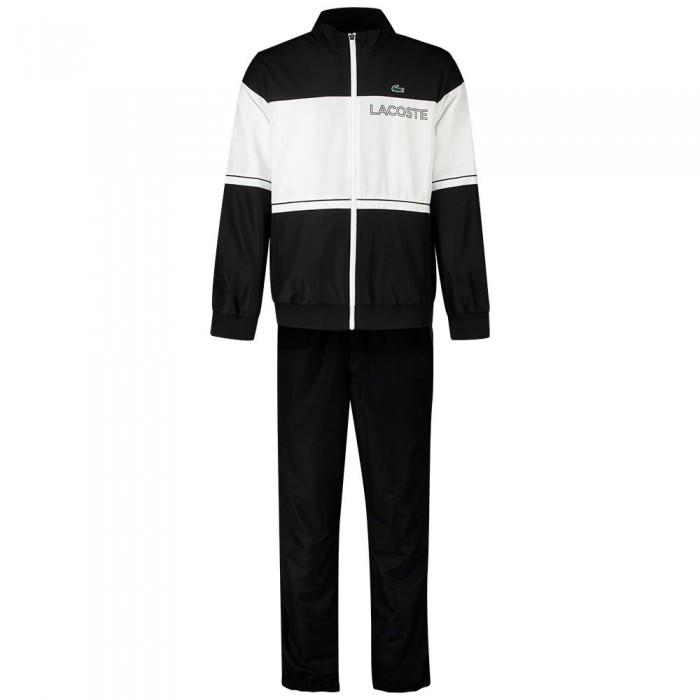 [해외]라코스테 Sport Lightweight Colourblock 7137944767 Noir / Blanc