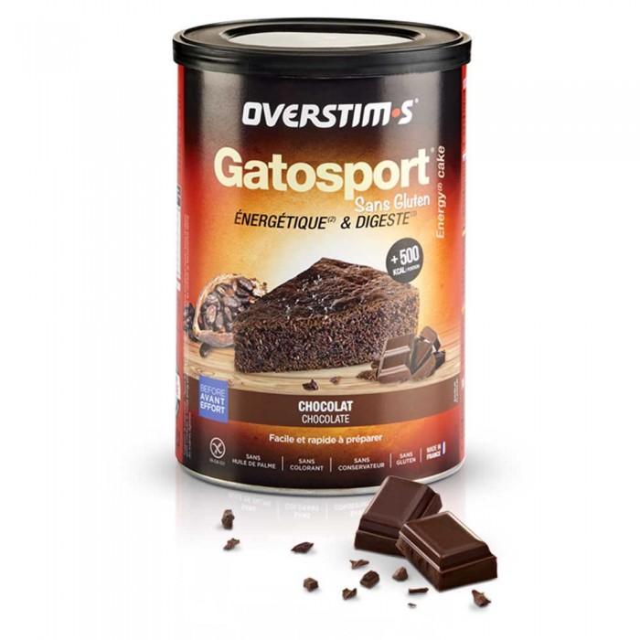[해외]OVERSTIMS Gatosport Gluten Free 400gr Chocolate 6138006532