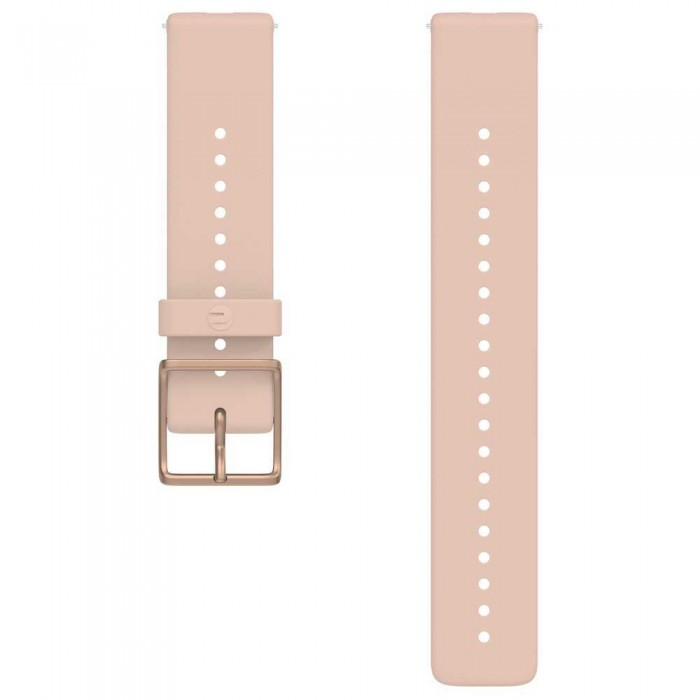 [해외]POLAR Strap 20mm Ignite 2 6138051541 Silver Pink / Rose