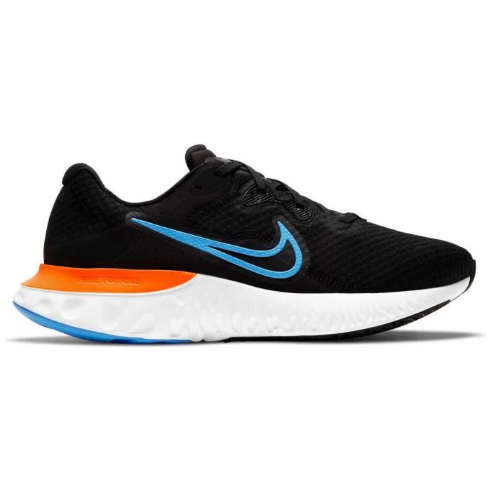 [해외]나이키 Renew Run 2 6138031041 Black / Coast / Dark Smoke Grey / Total Orange