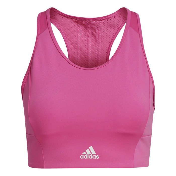 [해외]아디다스 Aeroready Designed 2 Move 3-Stripes Sport 6137926654 Screaming Pink