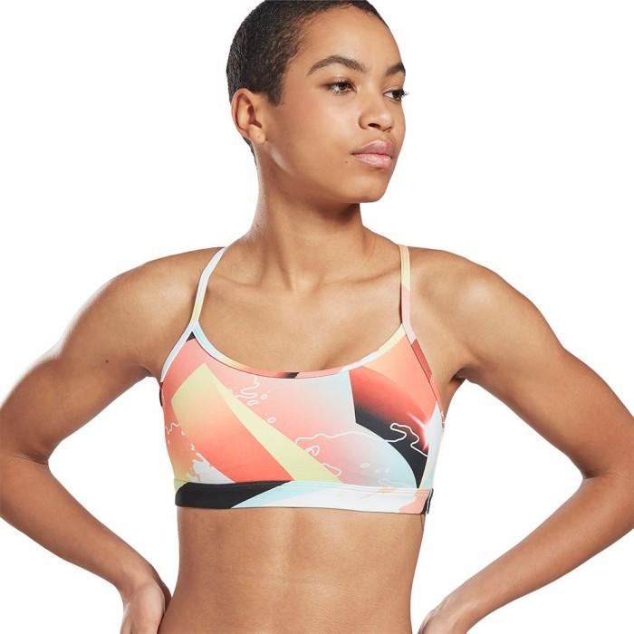 [해외]리복 United By Fitness Speedwick Retro Vector Skinny Medium Support 6137939388 Orange Flare