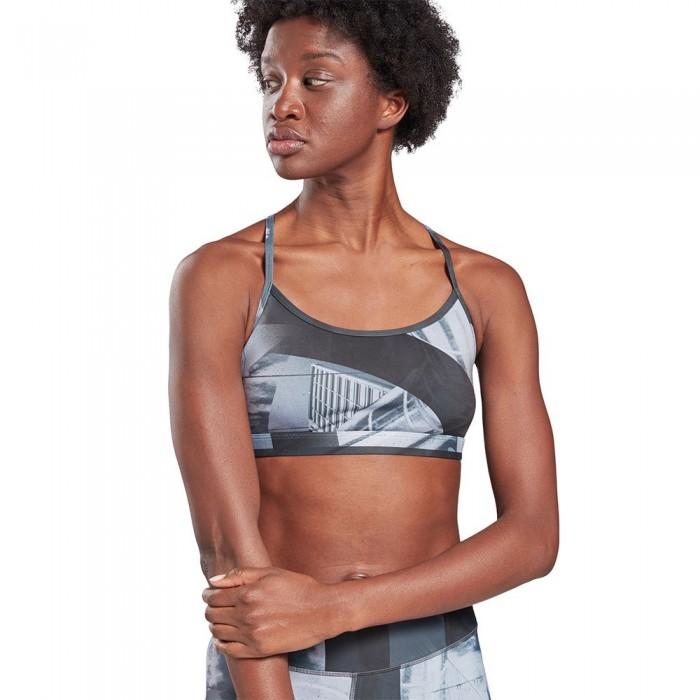 [해외]리복 United By Fitness Speedwick Flat On Your Back Skinny Medium Support 6137939614 Black