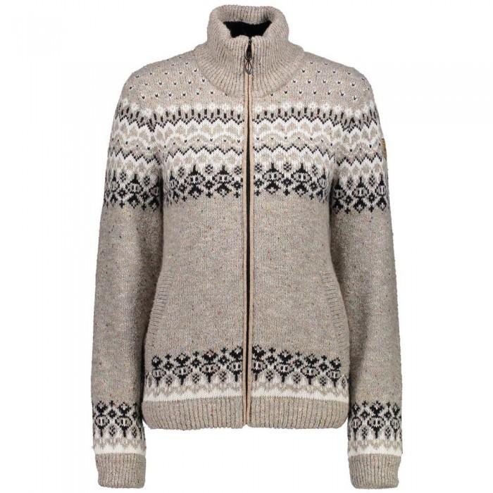 [해외]CMP Knitted Pullover WP 6136919609 Rock