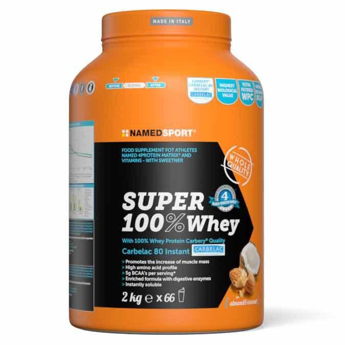 [해외]NAMED SPORT Super 100% Whey 2kg Coconut&Almond 7138048516