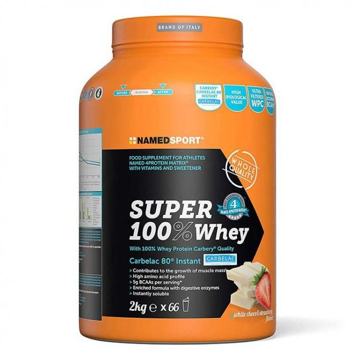 [해외]NAMED SPORT Super 100% Whey 2kg White Chocolate&Strawberry 7138048519