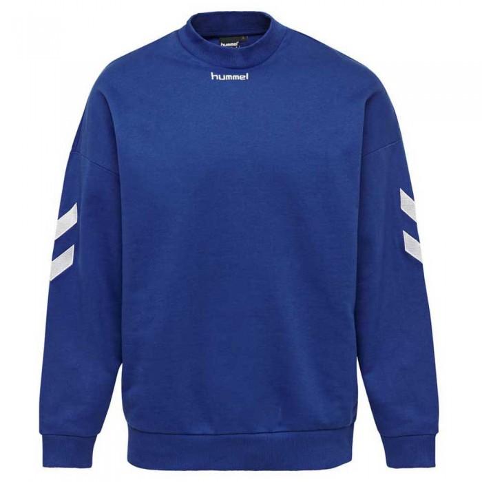 [해외]험멜 Chris Loose Sweatshirt 7137971634 Mazarine Blue