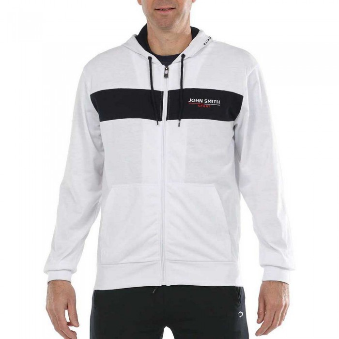 [해외]JOHN 스미스 Fure Full Zip Sweatshirt 7137975554 White