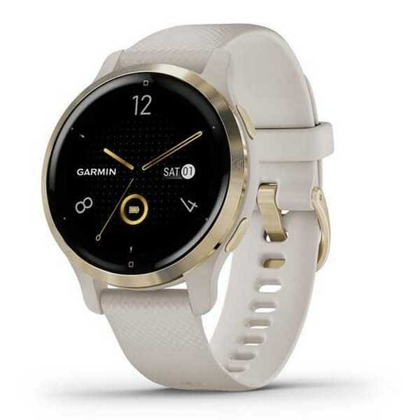 [해외]가민 Venu 2S Watch 14138071005 Beige / Light Gold