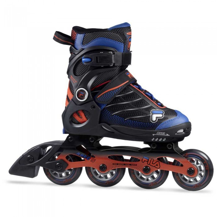 [해외]휠라 SKATE Wizy Aluminium Junior Refurbished 14138078496 Black / Red / Blue