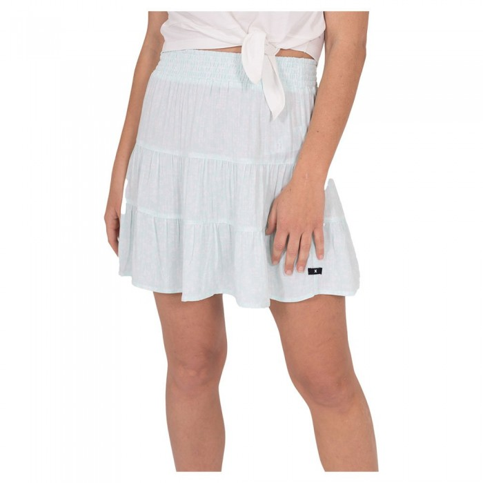 [해외]헐리 Tiered Mini Skirt 14137965730 Light Dew