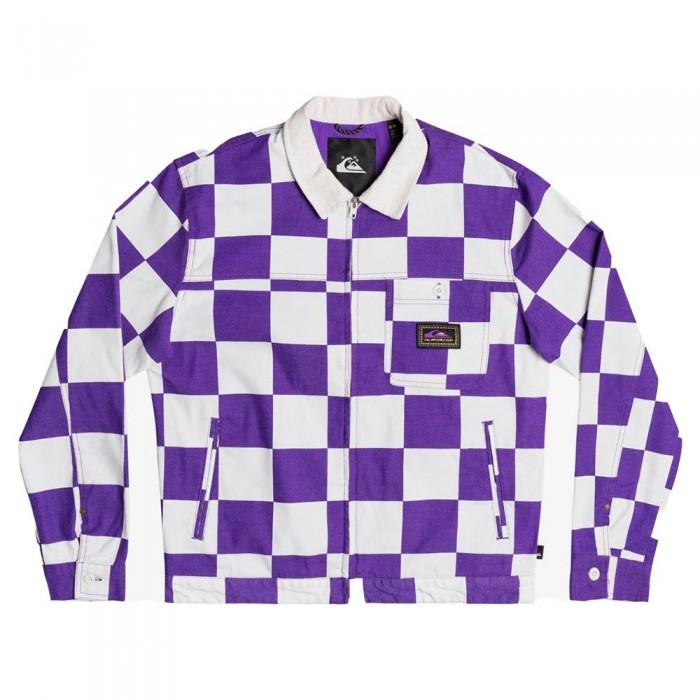 [해외]퀵실버 Og Box Checker 14137911500 Prism Violet Checkers