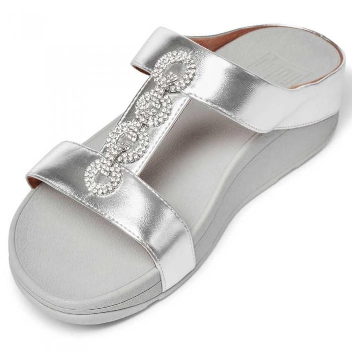 [해외]핏플랍 Fino Sparkles Flip Flops Silver