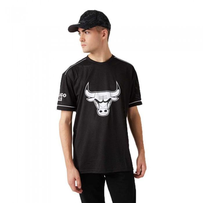 [해외]뉴에라 NBA Team Logo Oversized Chicago Bulls Black