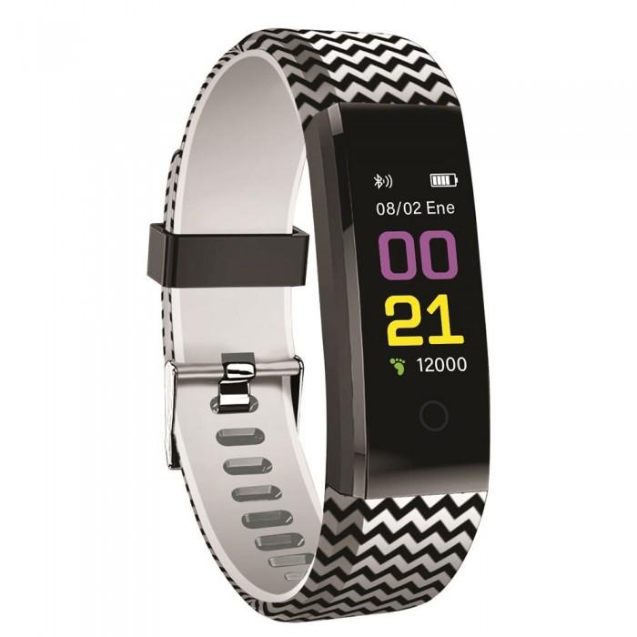 [해외]MUVIT iO Health Pop Activity Band 12137333029 Black / White
