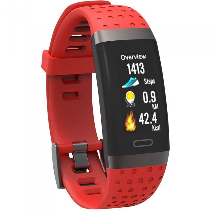 [해외]SWISSTONE SW 380 HR Activity Band 12137821436 Red