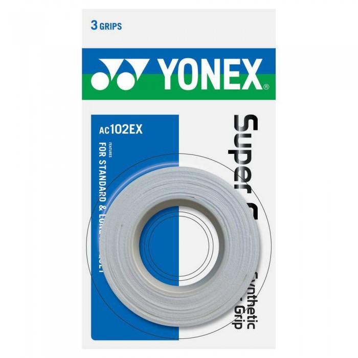 [해외]YONEX Super Grap AC102EX Tennis Overgrip 12138091615 White