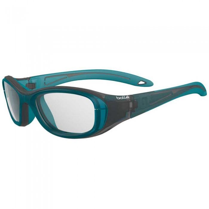 [해외]볼레 Coverage 48 Squash Glasses Junior 12137955784 Matte Black / Turquoise