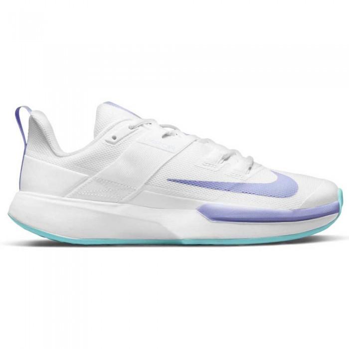 [해외]나이키 Court Vapor Lite 12138029986 White / Purple Pulse / Copa