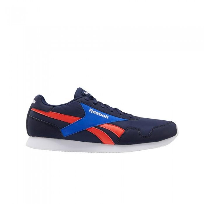[해외]리복 Royal Classic Jogger 3 12137939133 Vector Navy / Court Blue / Dynamic Red