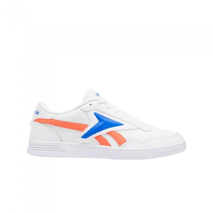 [해외]리복 Royal Techque 12137939155 White / Court Blue / Orange Flare