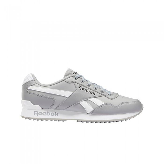 [해외]리복 Royal Glide Ripple Clip 12137939235 Pure Grey 4 / White / Black