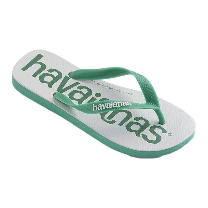[해외]하바이아나스 Top Logomania 2 12138034966 Tropical Green