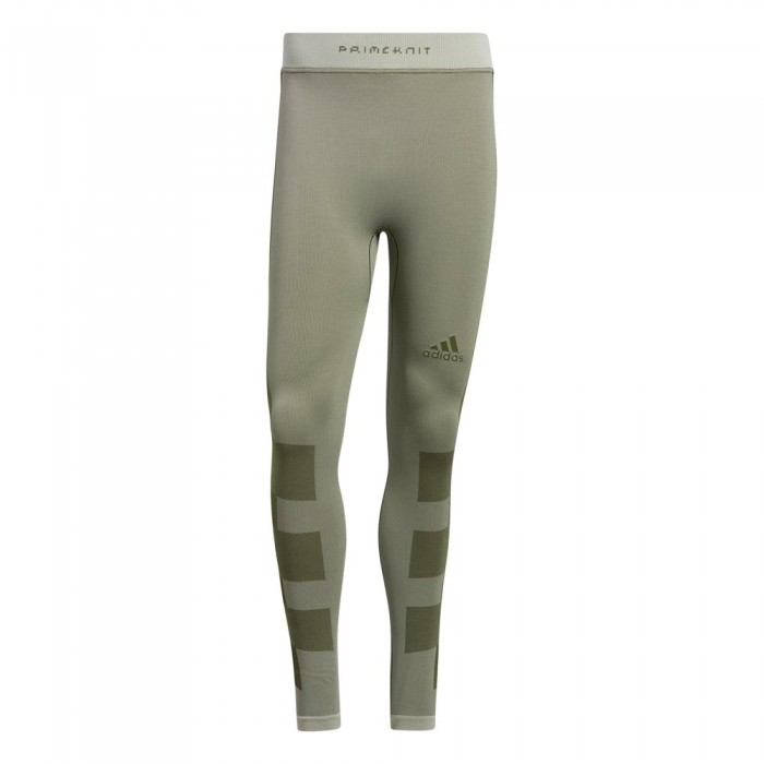 [해외]아디다스 Studio Techfit Seamless 12137901438 Cream White / Wild Pine