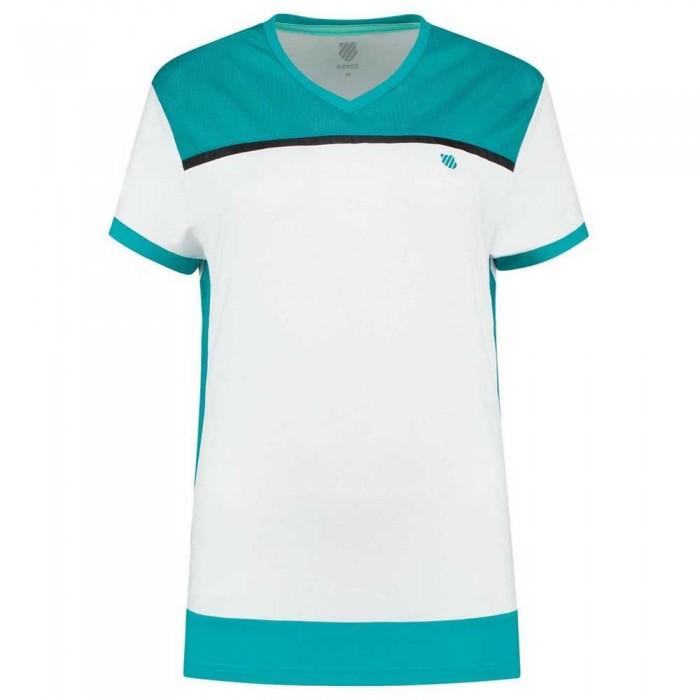 [해외]케이스위스 Hypercourt Advantage 2 12137302870 White / Aruba Blue