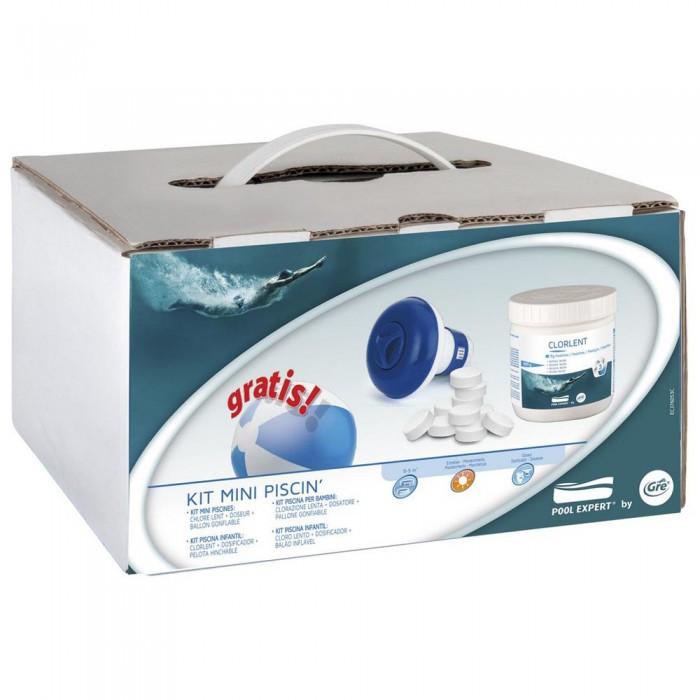 [해외]GRE POOLS Treatment Kit For Pools From 0 To 5 m³ 6136458823