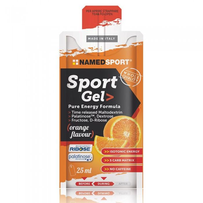 [해외]NAMED SPORT Sport Gel Energy 25ml 15 Units Orange 6138083949