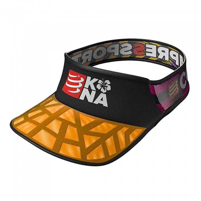 [해외]컴프레스포트 Kona Spiderweb Ultralight Visor 6136668999 Orange