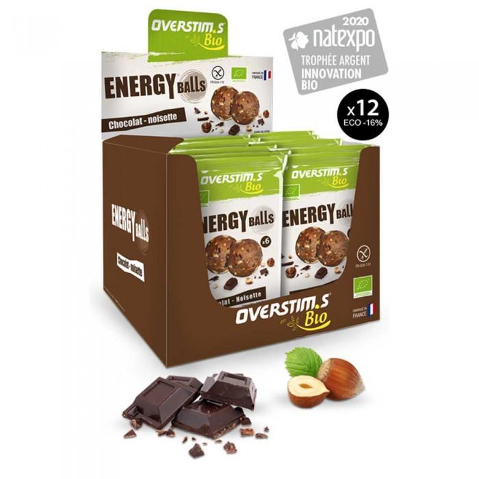 [해외]OVERSTIMS BIO 12 Units Chocolate&Hazelnut 6138006523