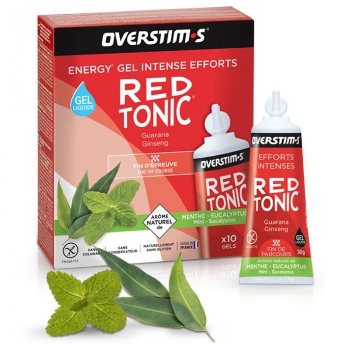 [해외]OVERSTIMS Red Tonic Sprint Air Liquid Mint Eucalyptus 30gr 10 Units 6138044471