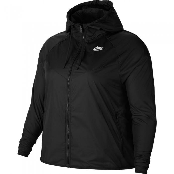 [해외]나이키 Sportswear Windrunner Femmenine Big Size 6137460318 Black / White