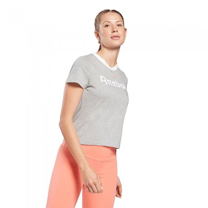 [해외]리복 Essentials Linear Logo 6137939787 Medium Grey Heather