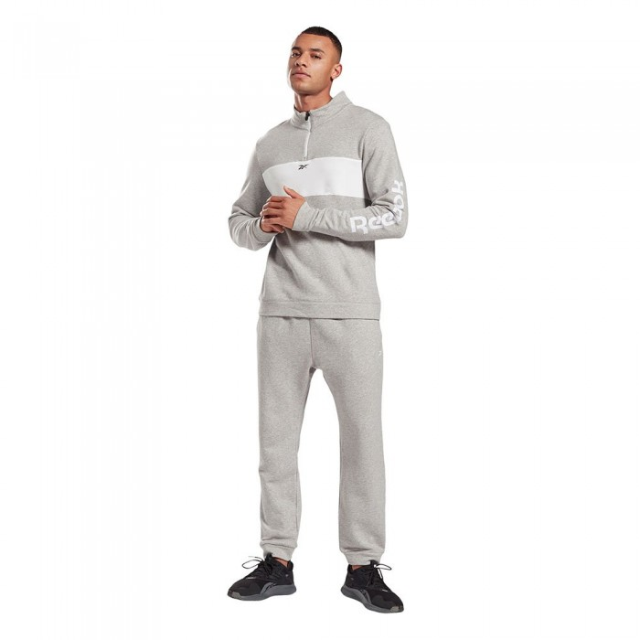 [해외]리복 Essentials Linear Logo 6137939774 Medium Grey Heather